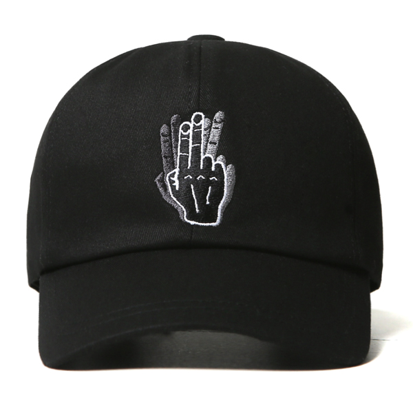 [VIBRATE] - HAND SHAKE SIGN BALL CAP (black)