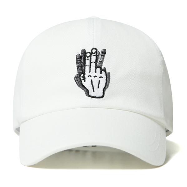 [VIBRATE] - HAND SHAKE SIGN BALL CAP (white)