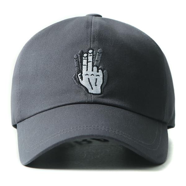 [VIBRATE] - HAND SHAKE SIGN BALL CAP (darkblue)