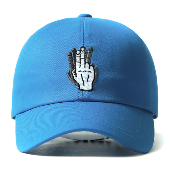 [VIBRATE] - HAND SHAKE SIGN BALL CAP (blue)