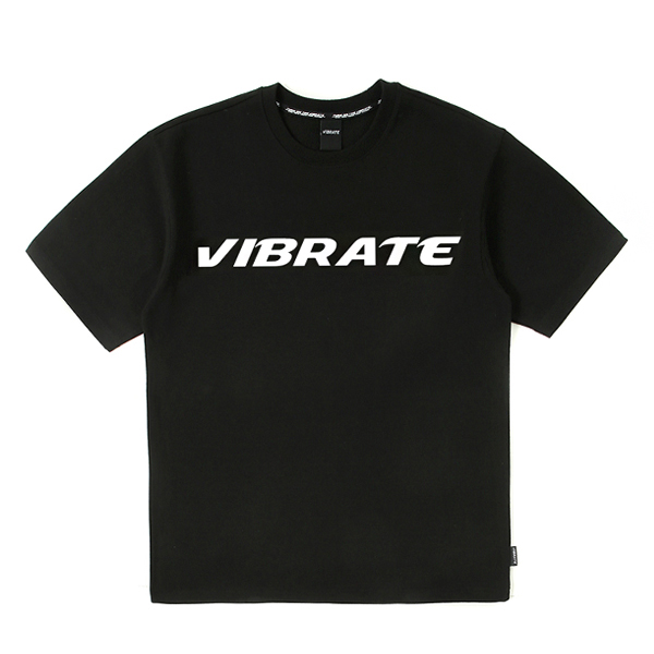 [VIBRATE] - FULL LOGO T-SHIRT (black)
