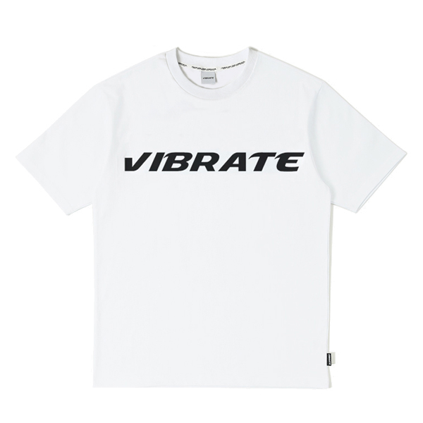 [VIBRATE] - FULL LOGO T-SHIRT (white)