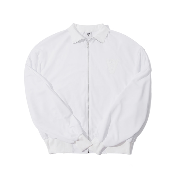 [VIBRATE]V8 - VLOW YOUR MIND JACKET (white)
