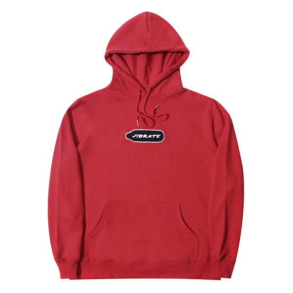 [VIBRATE] - BOTTLE EMBROIDERY HOODIE (red)