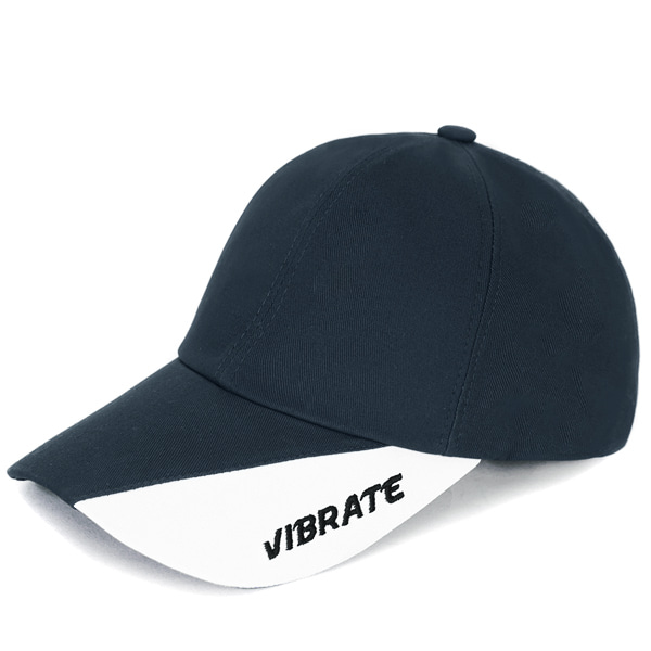 [VIBRATE] - TWO TONE BALL CAP (NAVY&WHITE)