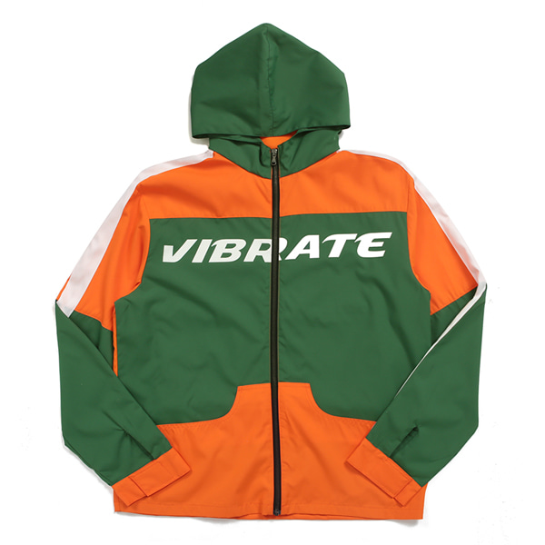 [VIBRATE] - VIBE COMBINATION WIND BREAKER (ORANGE)