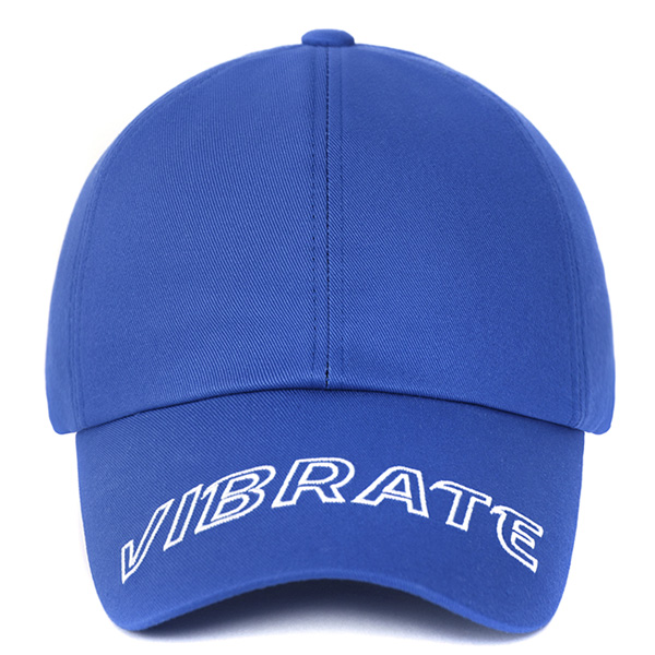 [VIBRATE] - VISOR EMBROIDERY BALL CAP (BLUE)