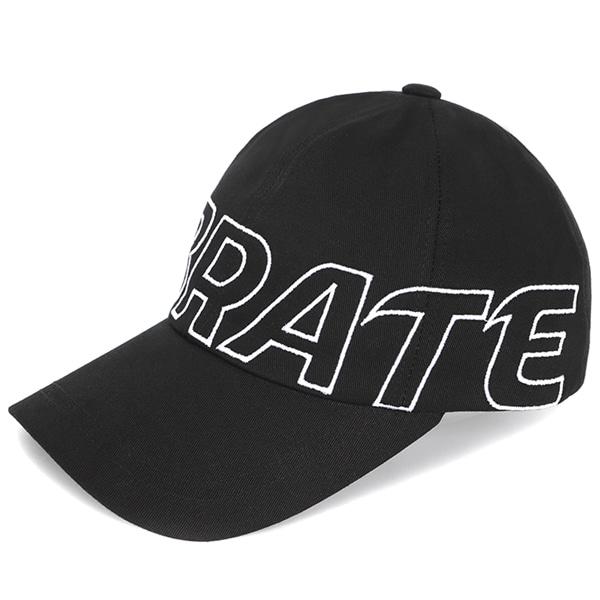 [VIBRATE] - BASIC BIG LOGO BALL CAP (BLACK)