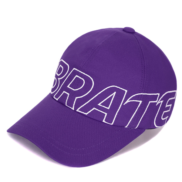[VIBRATE] - BASIC BIG LOGO BALL CAP (PURPLE)