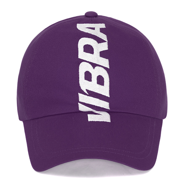 [VIBRATE] - CROWN EMBROIDERY BALL CAP (PURPLE)